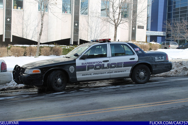 Barberton Ohio Police Department