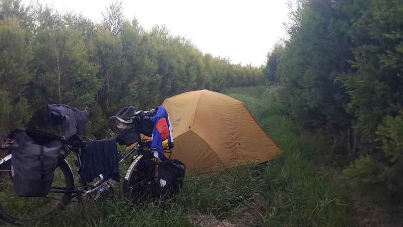 Wild camping in Kwazulu Natal