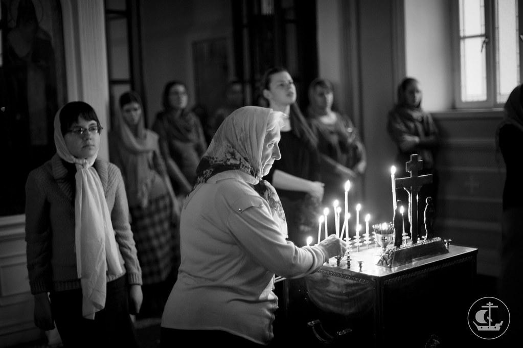 16 февраля 2014, Всенощное бдение накануне Недели о блудном сыне