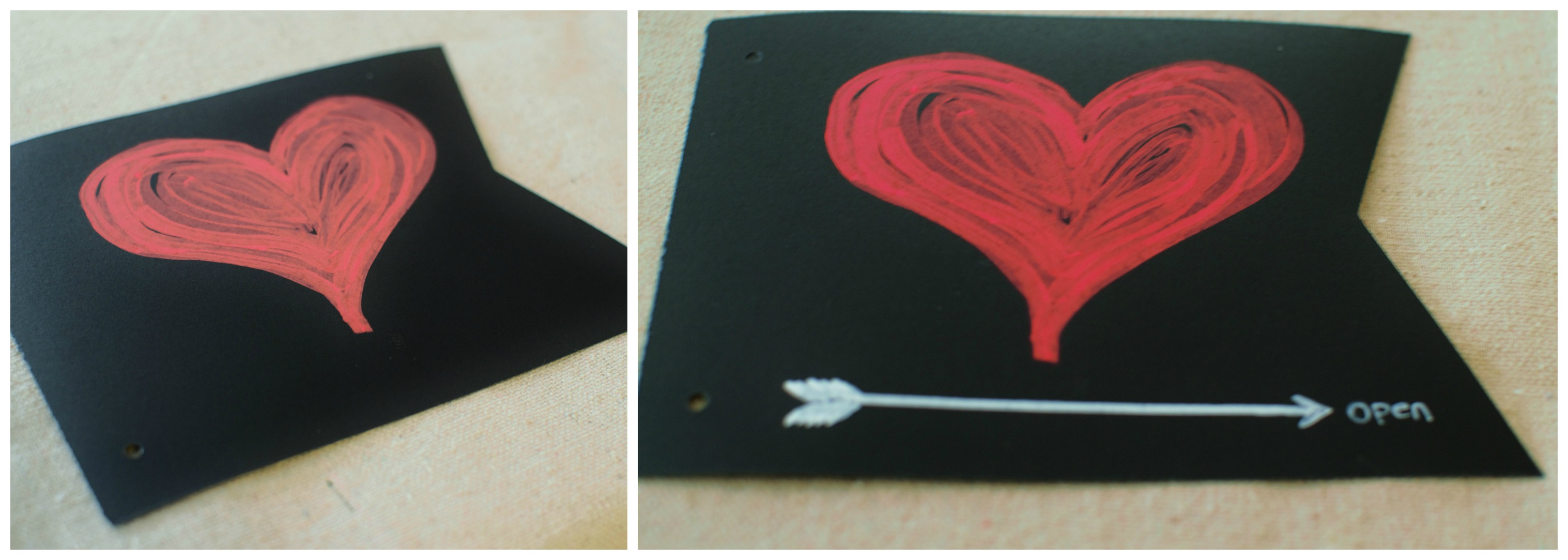 designing a chalkboard photo album