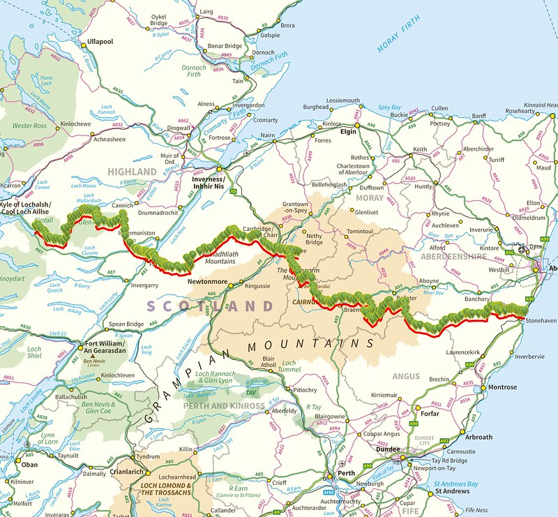 Our TGO 2014 Route Summary