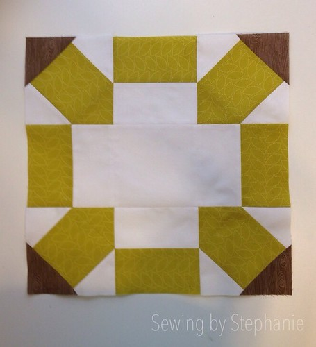 Stash Bee February block