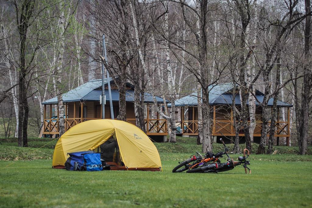 Hobetsu Campground, Hokkaido, Japan