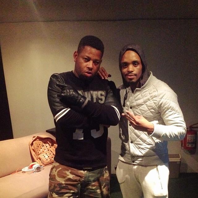 D-Black & Donald in Studio