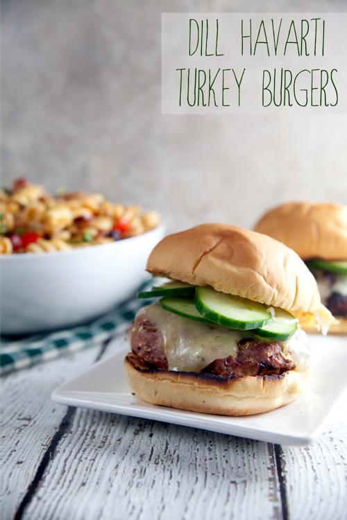 Dill-Havarti-Turey-Burgers