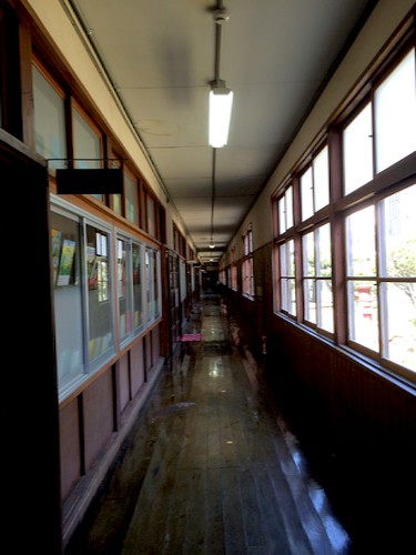 校舎の廊下