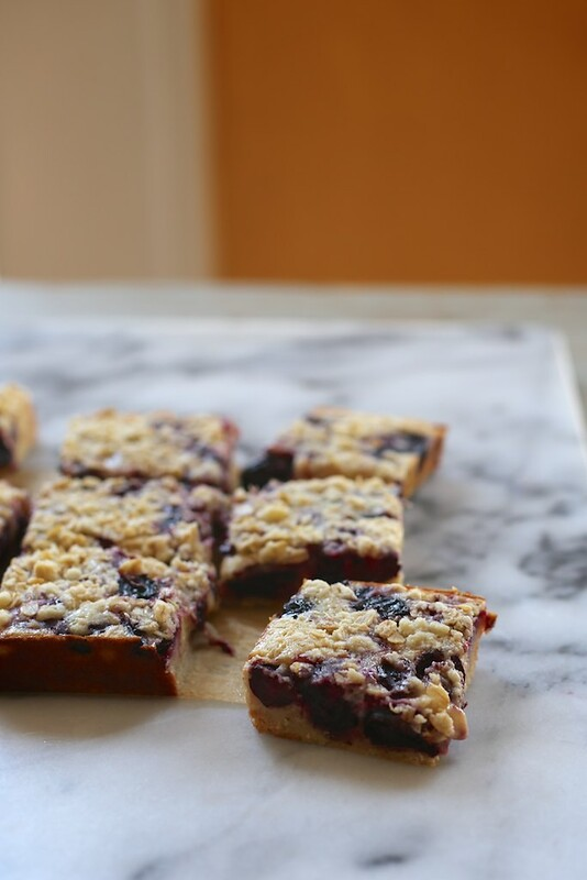 Cherry Pie Bars // joy the baker