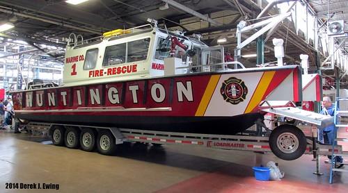 City of Huntington Fire Department (West Virginia) Marine Co. 1