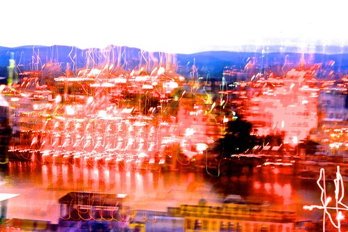 Udaipur motion blur art