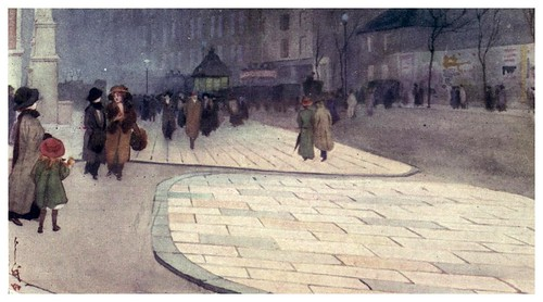 002--Exteriores del museo Kensington-A Japanese artist in London (1910)- Yoshio Markino