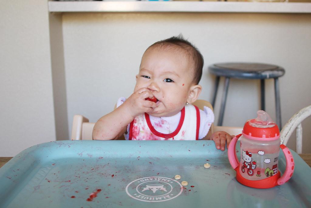 serene eats at 8 months