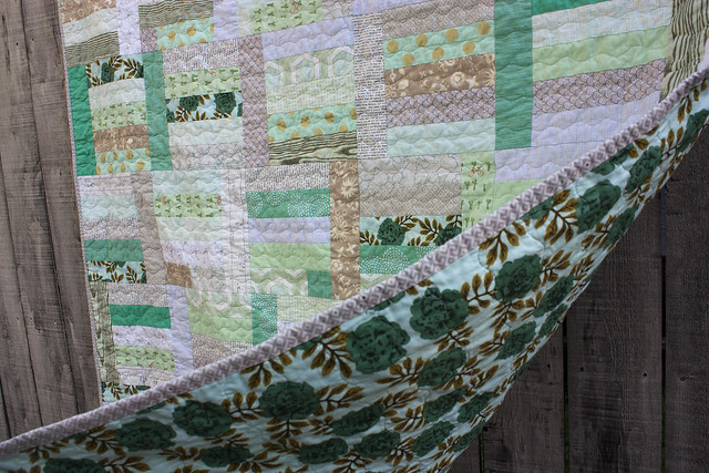 Minty goodness from Sunday Morning Quilts