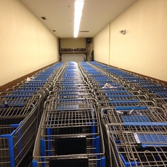 Carts. #latergram #shopping #retail