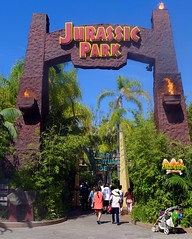 Universal Studios Hollywood: Jurassic Park gate