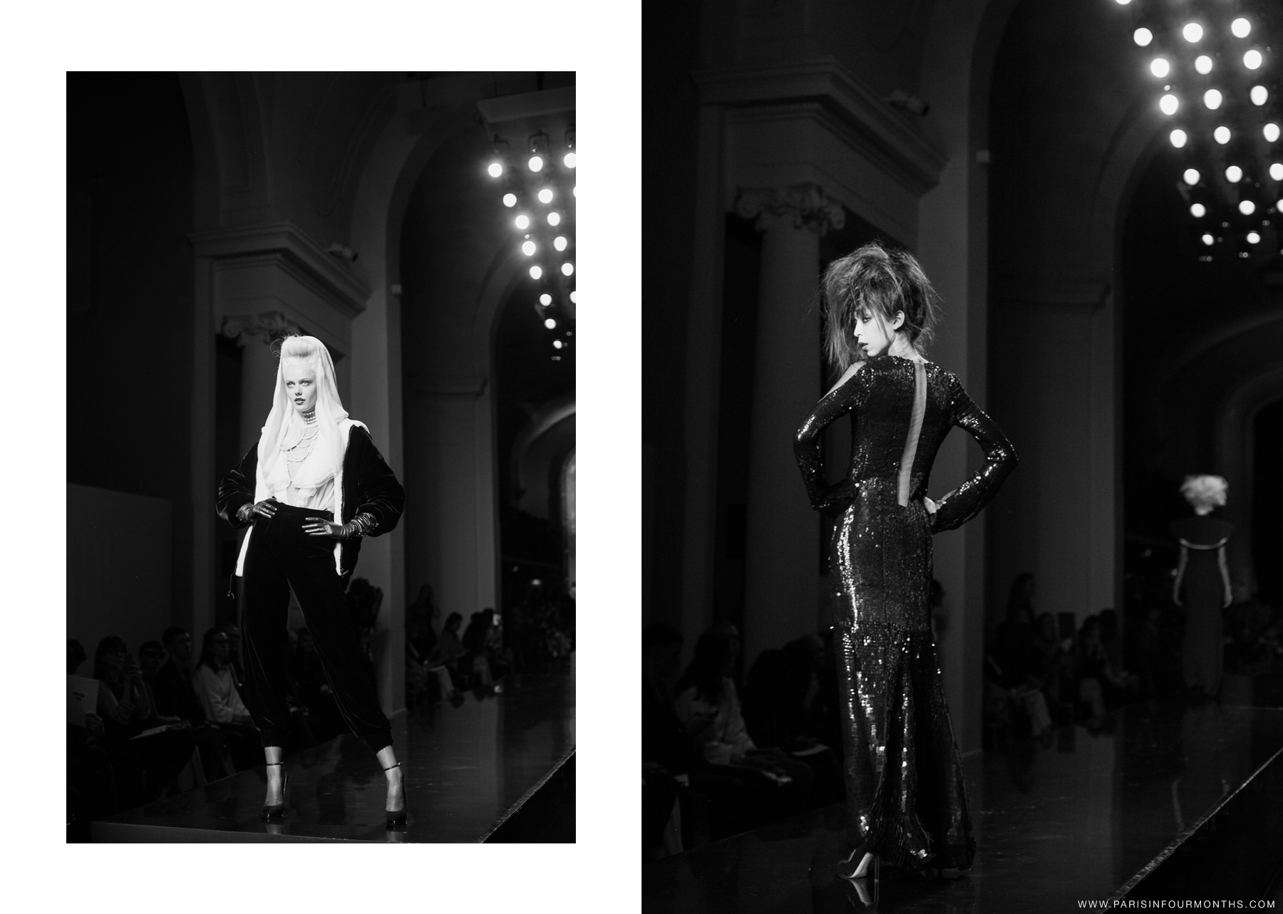 Jean Paul Gaultier haute couture show by Carin Olsson (Paris in Four Months)