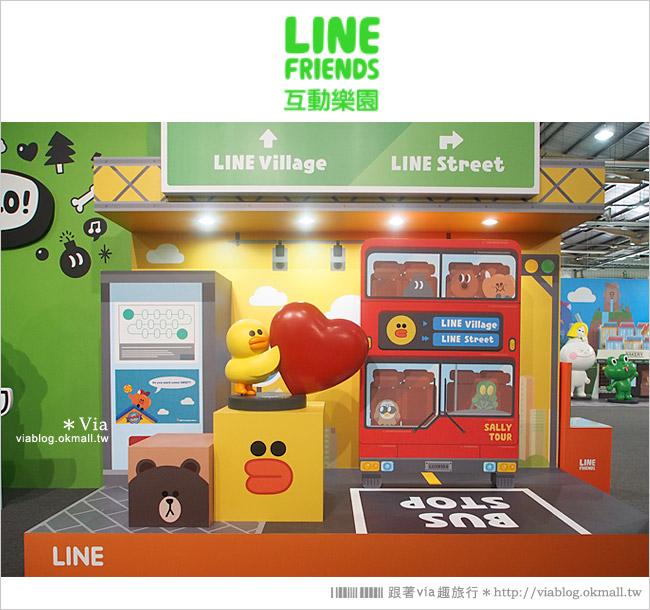 【台中line展2014】LINE台中展開幕囉!趕快來去LINE FRIENDS互動樂園玩耍去!(圖爆多)51