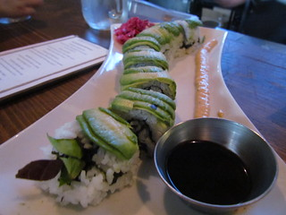 Avocado Roll at Plum Bistro