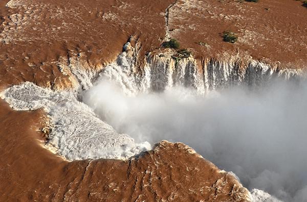 Garganta del diablo en Iguazú