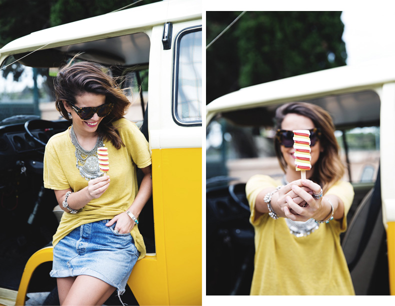 LidL_Ice_Cream-Levis_Vintage_Skirt-Yellow_Top-Espadrilles-Outfit-100