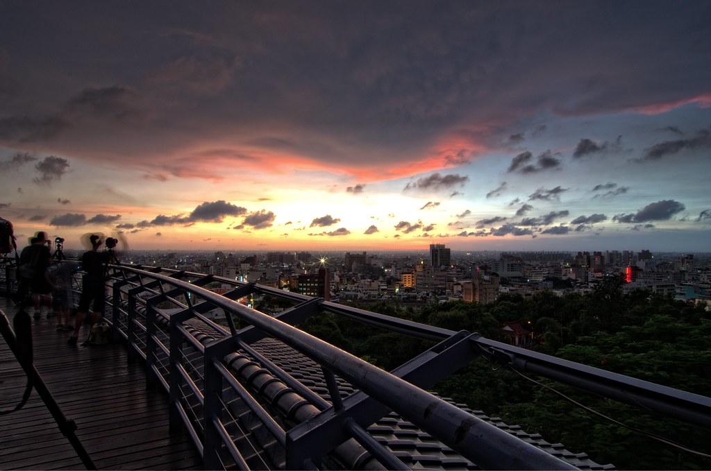 八卦山夕陽