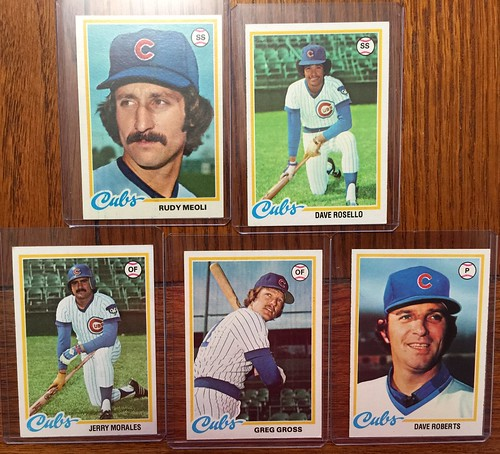 Topps Chicago Cubs cards