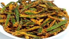 Bhindi Fry.