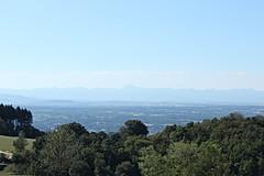 Vue sur la chaîne des Puys