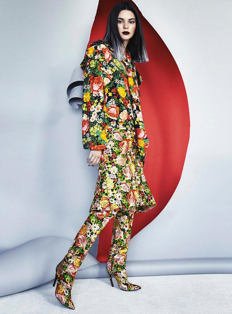 Кендалл Дженнер — Фотосессия для «Vogue» AU 2016 – 3