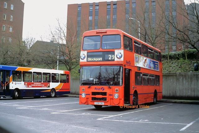 First Manchester 3218 (C218 CBU)