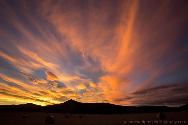 Benachie sunset, Canon EOS 6D, Canon EF 17-35mm f/2.8L