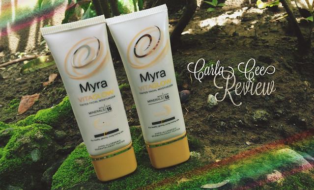 Myra Vitaglow Tinted Facial Moisturizer