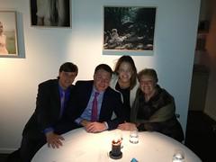 with Colin, Joan, Amanda