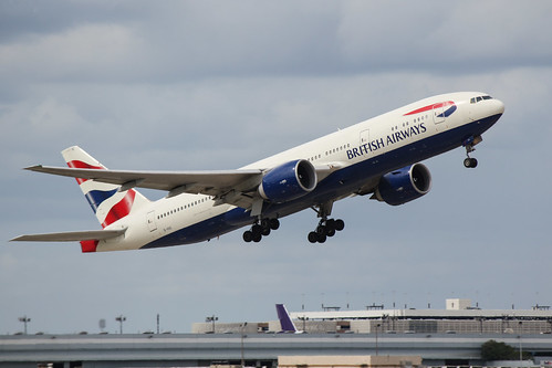 British Airways Departure at IAH