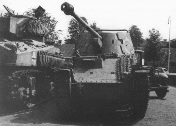 US technics in german units 6