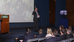 NNSA Acting Administrator Bruce Held holds all hands meeting