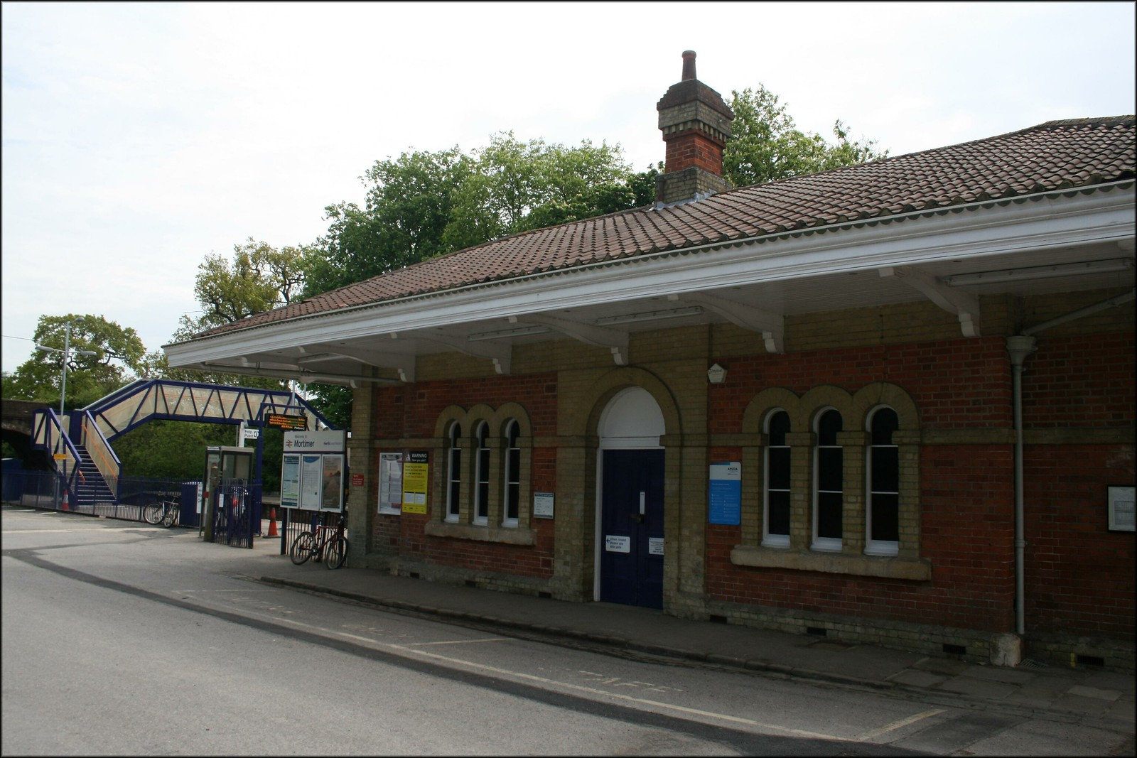 Mortimer Station On the line between Basingstoke and Reading.