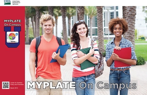 Resources that support the MyPlate On Campus initiative, such as this toolkit, are available for free download at ChooseMyPlate.gov.