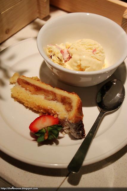 Spice Brasserie - Apple Tart with Vanilla Ice Cream