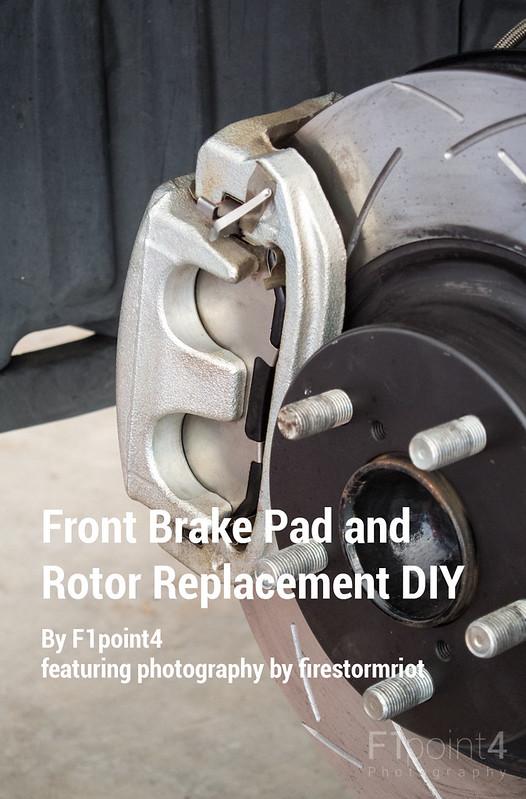 Frs Brake Pads >> Diy Front Brake Pad And Brake Rotor Replacement Scion Fr