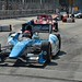 Simon Pagenaud leads Scott Dixon through the chicane during the Grand Prix of Baltimore