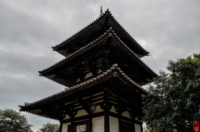 「古の趣き」 法起寺 - 奈良