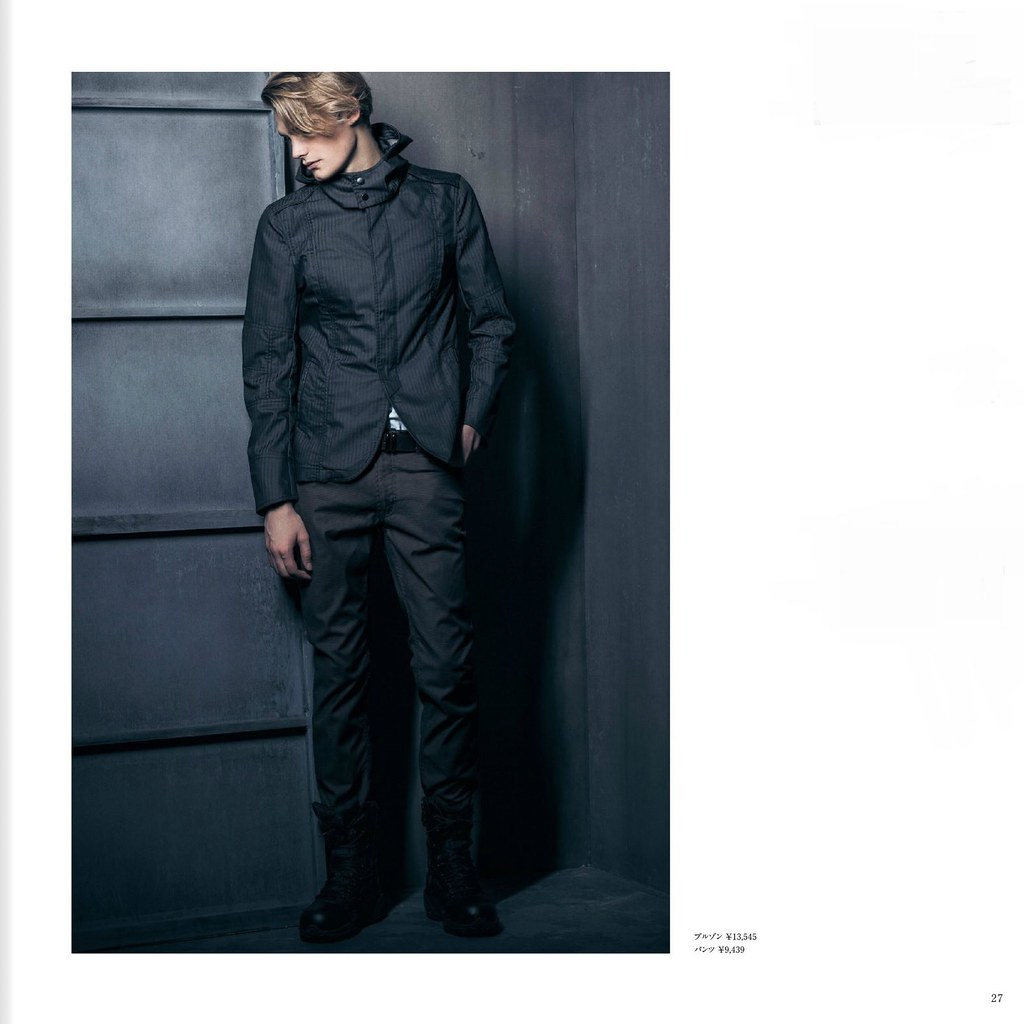 m.f.editorial Men's Autumn Collection 2013_006Danny Beauchamp, Kye D'arcy