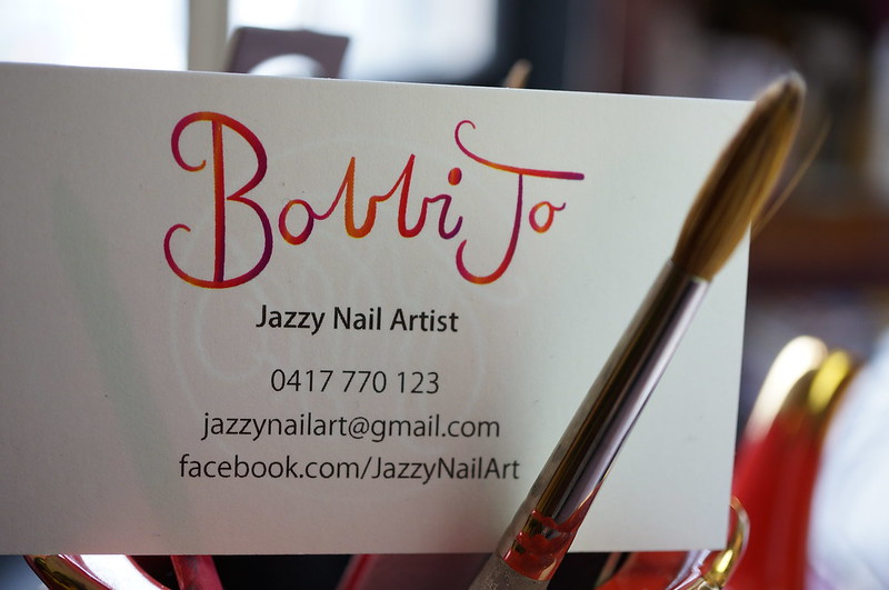 Jazzy Nail Art by Bobbi Jo