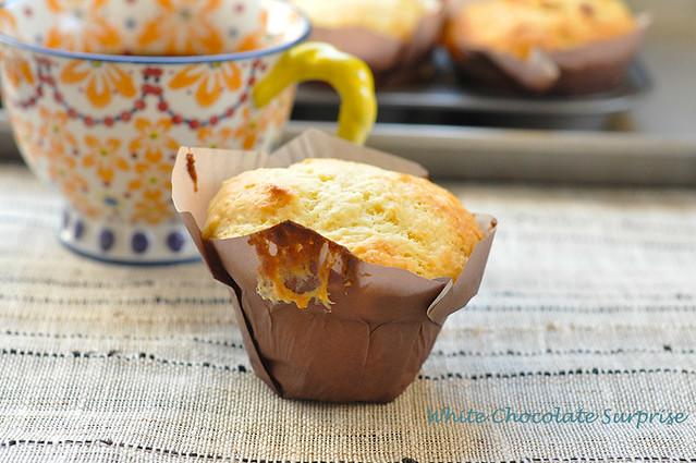 Happy Surprise Muffins - White Chocolate