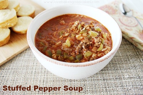 Stuffed Pepper Soup 2