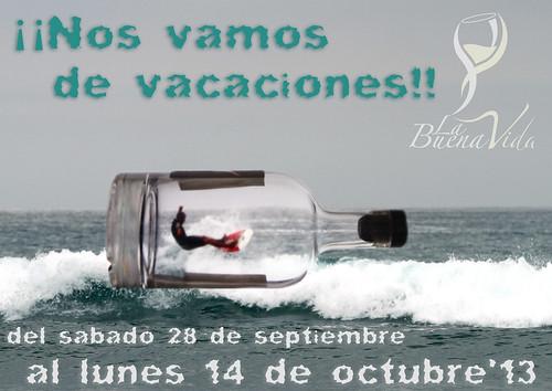 ¡¡NOS VAMOS DE VACACIONES!!
