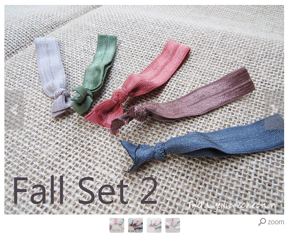 The Paige Nicole Collection Fall Set Hair Ties on southeastbymidwest.com