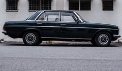 executive car(0.0), mercedes-benz(0.0), antique car(0.0), automobile(1.0), automotive exterior(1.0), vehicle(1.0), mercedes-benz w114(1.0), compact car(1.0), sedan(1.0), classic car(1.0), land vehicle(1.0), luxury vehicle(1.0),
