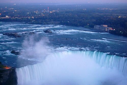 The Falls at Dusk.