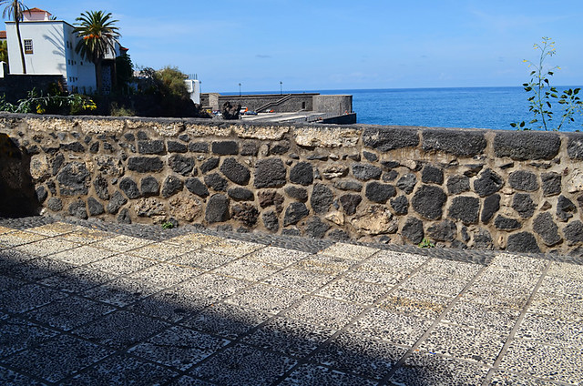 Section of San Telmo Sea Wall, Puerto de la Cruz, Tenerife